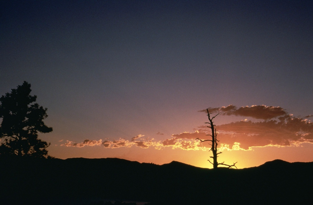Sunset at Flaming Gorge