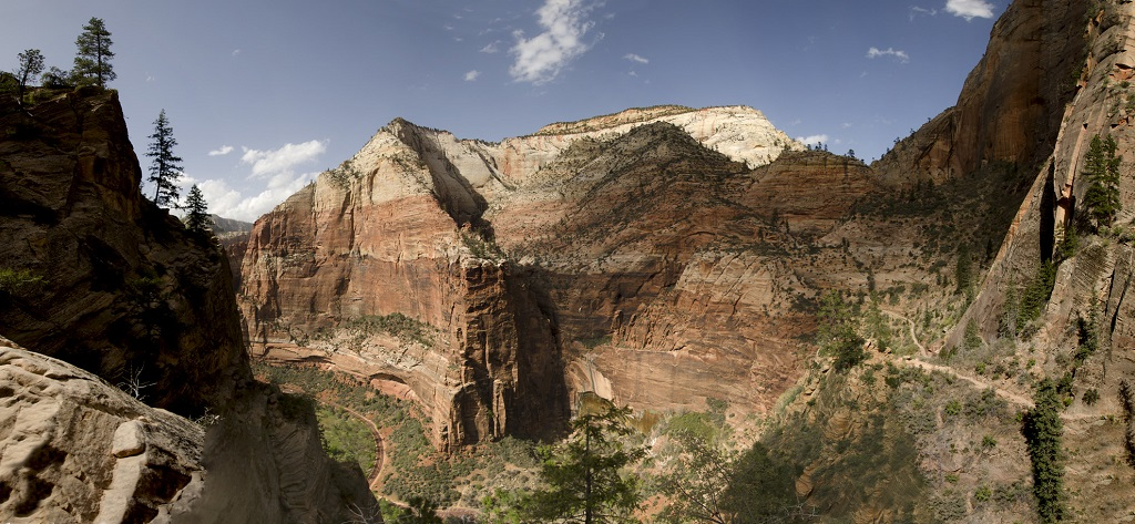 Panorama _ zion canyon